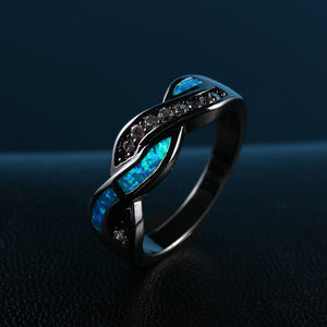 Blue Nebula Ring