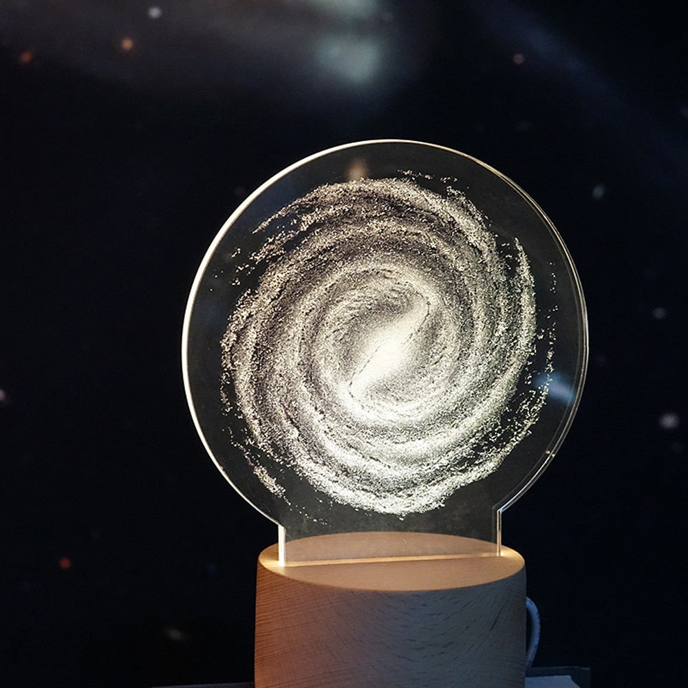 The Galaxy - Acrylic 3D Lamp