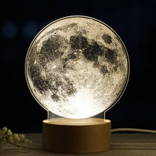 Load image into Gallery viewer, The Moon - Acrylic 3D Lamp