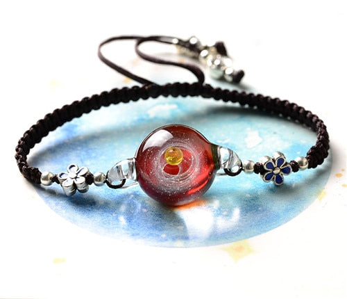 Antheia Galaxy Glass Bracelet