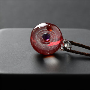 Antheia Galaxy Glass Pendant