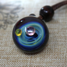 Load image into Gallery viewer, Achelois Galaxy Glass Pendant