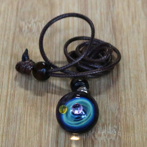 Achelois Galaxy Glass Pendant