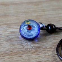 Load image into Gallery viewer, Alcyone Galaxy Glass Pendant