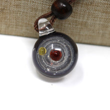 Load image into Gallery viewer, Amphitrite Galaxy Glass Pendant
