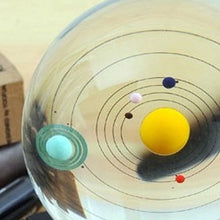 Load image into Gallery viewer, Solar System Crystal Ball Decoration