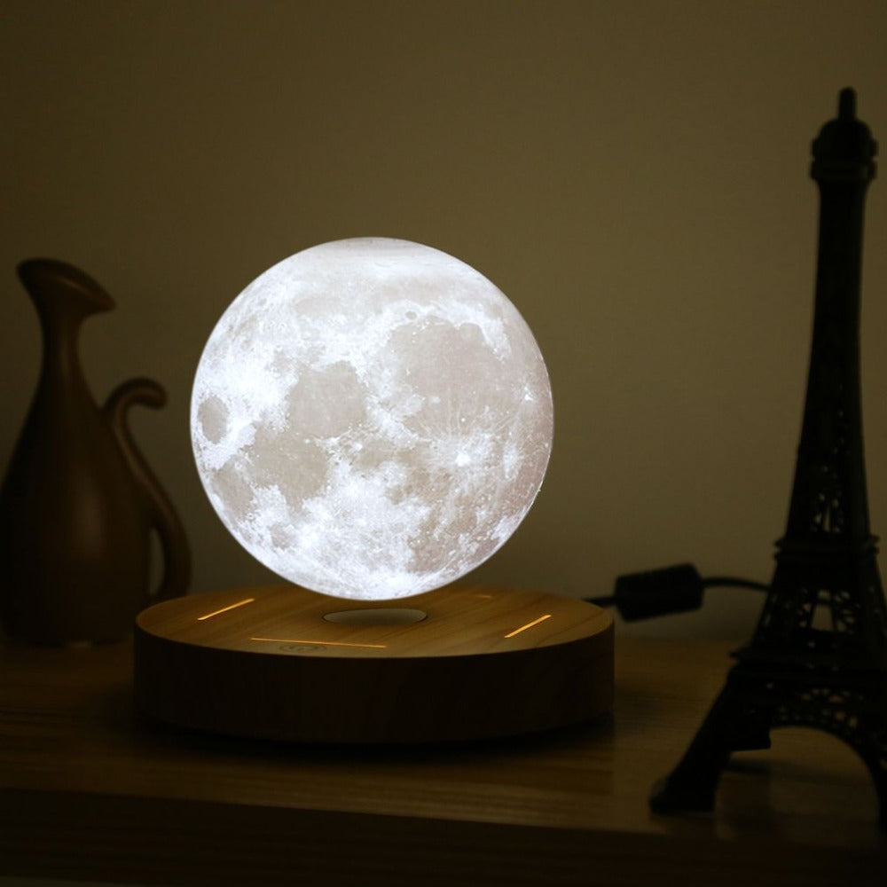 Floating Rotating Moon Light Lamp