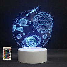 Load image into Gallery viewer, The Stars - Acrylic 3D Lamp