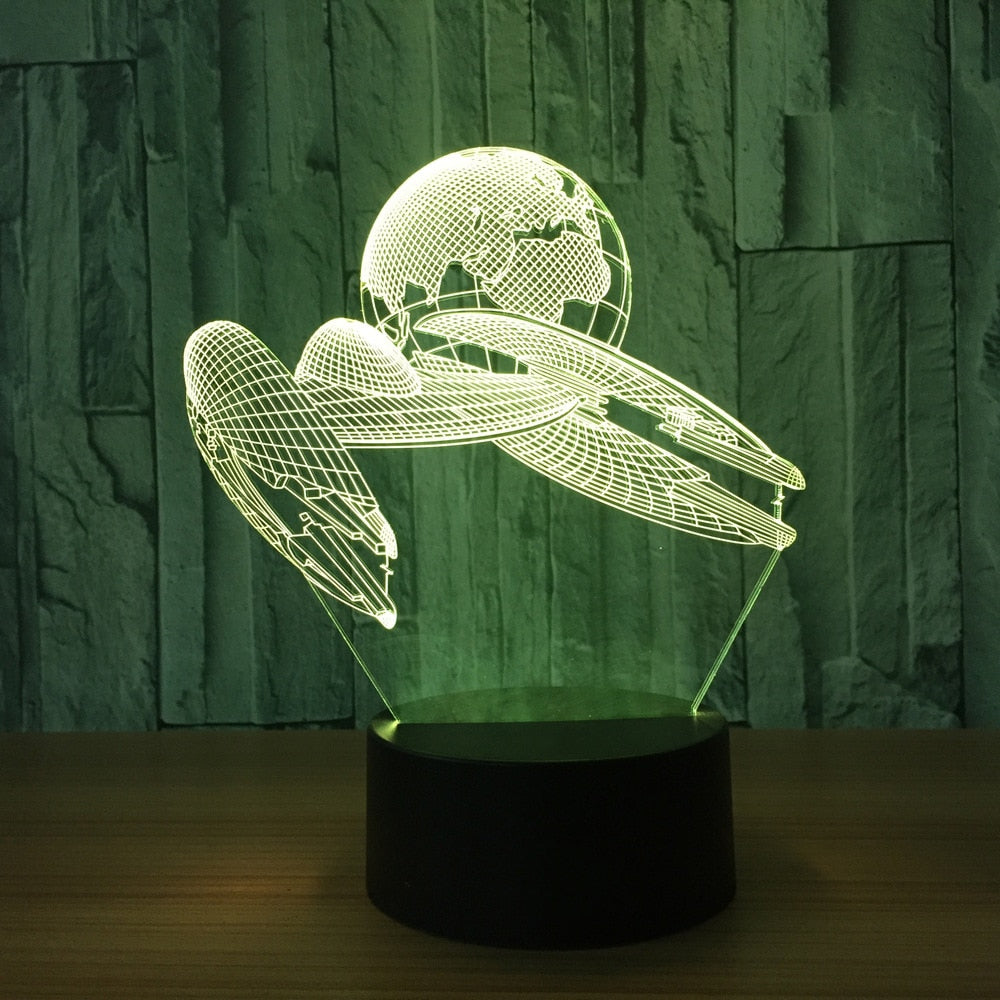 We're Leaving - Acrylic 3D Lamp