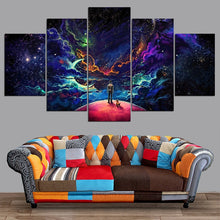 Charger l'image dans la galerie, Lost In The Cosmos 5 Pieces Canvas