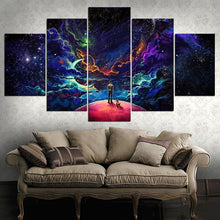 Load image into Gallery viewer, Lost In The Cosmos - 5 Pieces  Framed Canvas