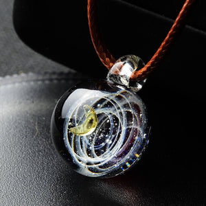 Anastasia Galaxy Glass Pendant