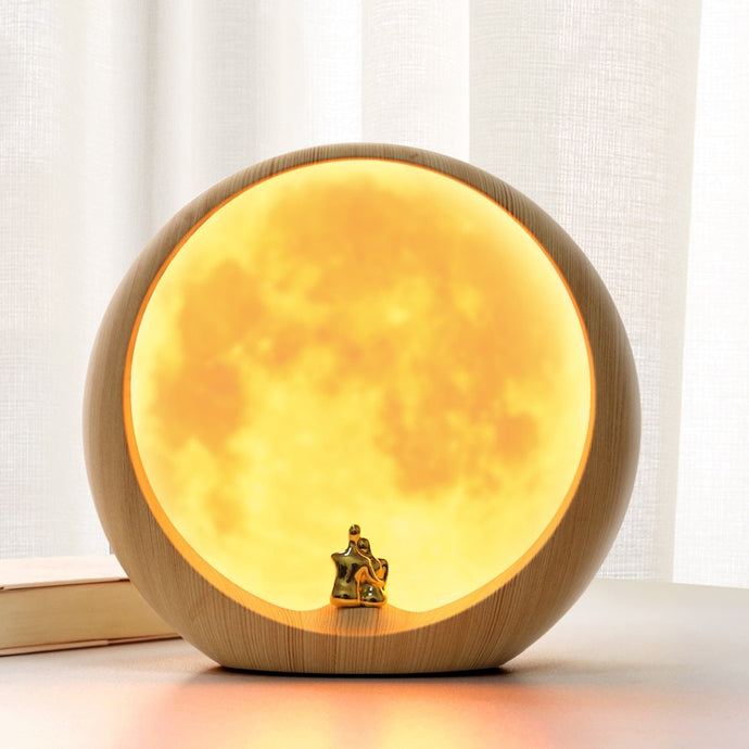 Sun Over The Moon LED Lamp