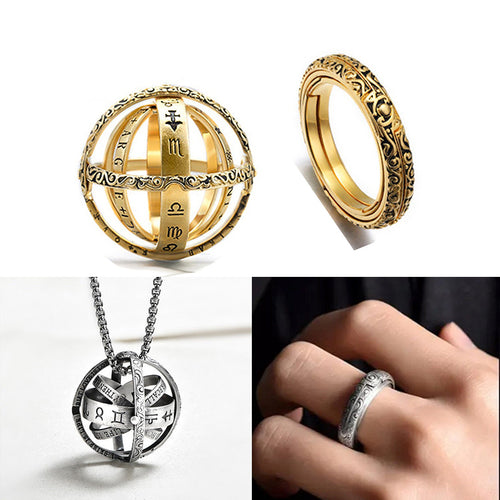 Astronomical Ring and Pendant 2 in 1  Gemma's Ring