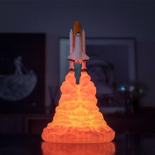 Load image into Gallery viewer, Space Shuttle Rocket Lamp