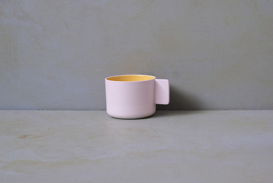 1616 / arita japan  S&B CoffeeCup Light Pink Cup Ø170×H6mm