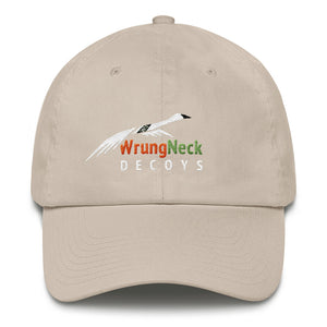 Cotton Cap with WrungNeck Decoys logo.