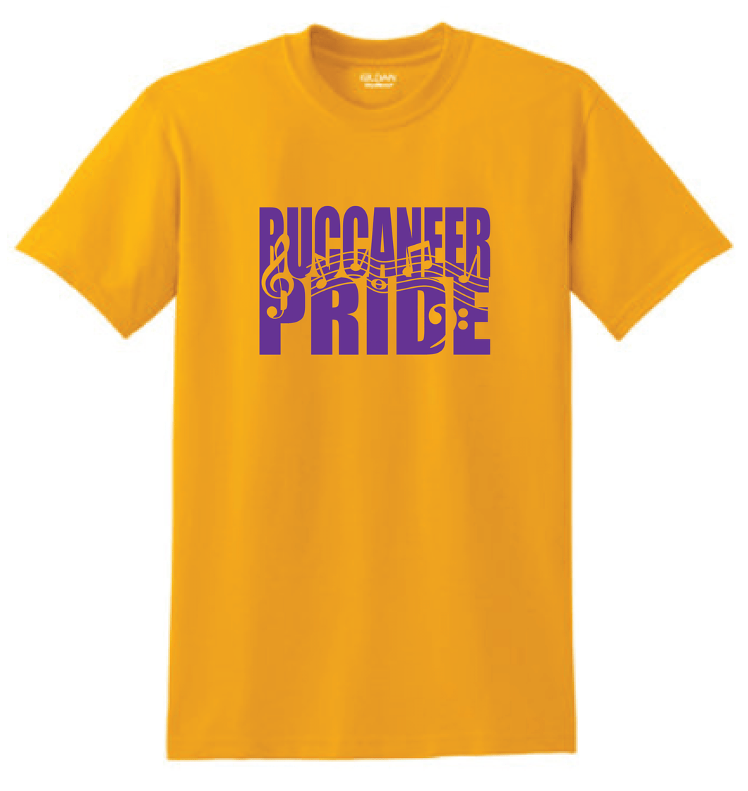 Miller Buccaneer Pride- Band/Orchestra/Choir School Colors