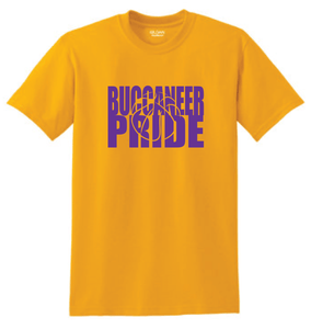 Miller Buccaneer Pride- Basketball School Colors