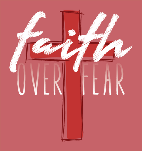 Faith Over Fear - Decal