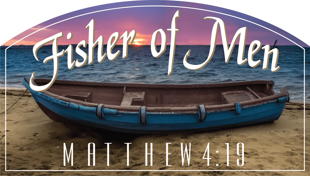 Fisher Of Men - Decal