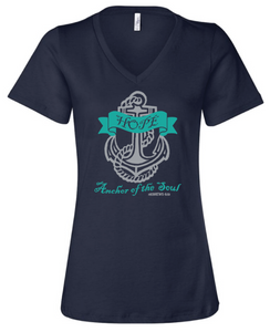 Hope Anchor V-Neck