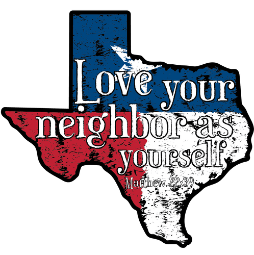 Love Your Neighbor - Decal