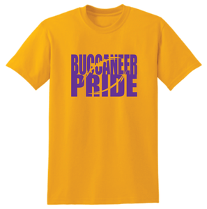 Miller Buccaneer Pride- Football School Colors