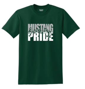 King Mustang Pride- Band/Orchestra/Choir School Colors
