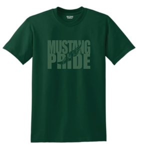 King Mustang Pride- Track Fade