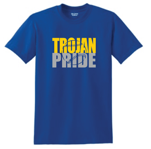 Moody Trojan Pride- Baseball/Softball School Colors