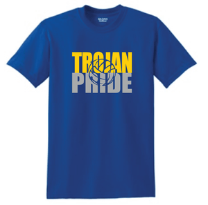 Moody Trojan Pride- Volleyball School Colors