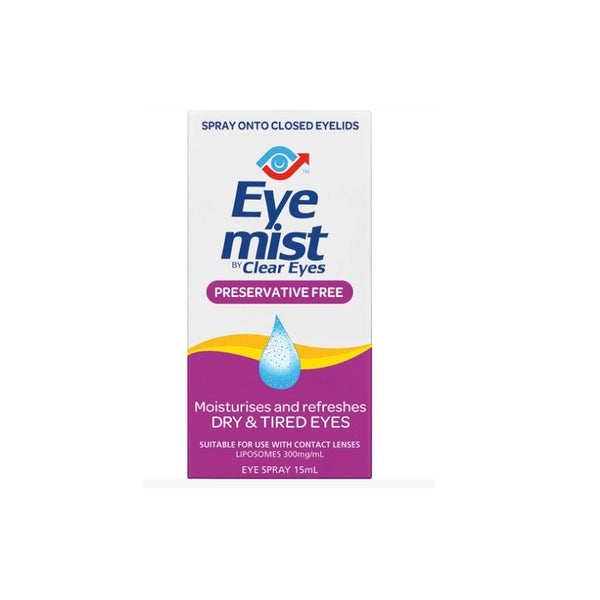 CLEAR EYES Eye Mist 15ml