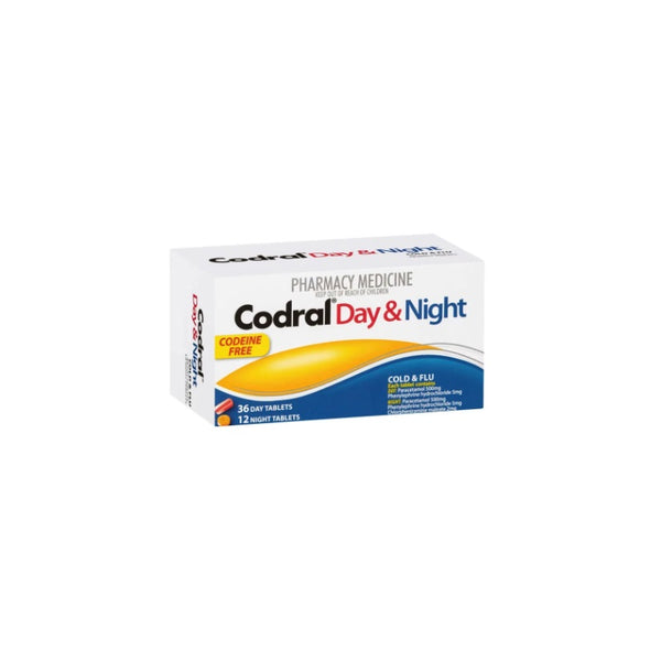 CODRAL PE Day & Night (codeine Free) Tablets 48