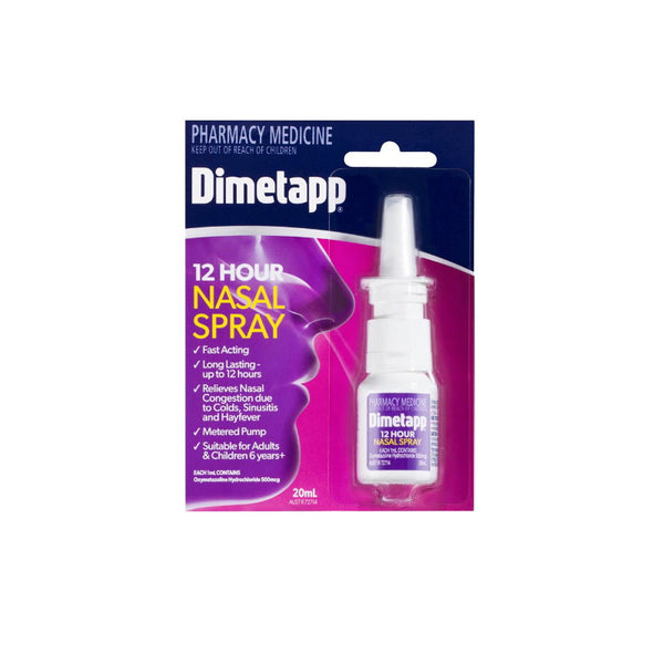 DIMETAPP 12 Hour Nasal Spray 20ml