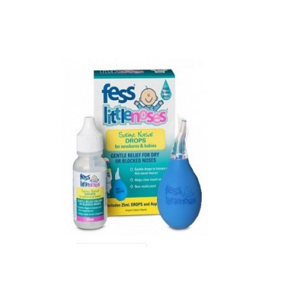 FESS Little Noses Drops & Asp. 25ml