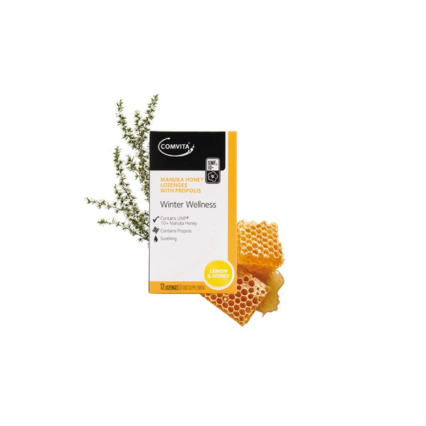 COMVITA Manuka Honey Lozenge Lemon & Honey 12s