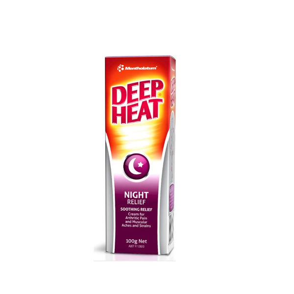 Mentholatum Deep Heat Night 100g