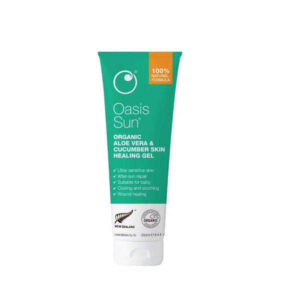 OASIS Org. A/V & Cucumber Gel 250ml