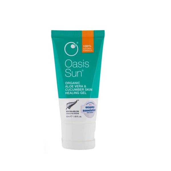 OASIS Org. A/V & Cucumber Gel 50ml