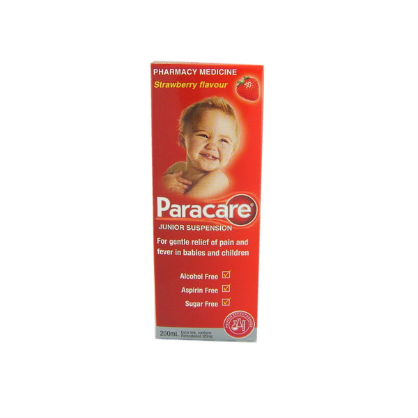 PARACARE Junior Strawberry 120mg/5ml 200ml