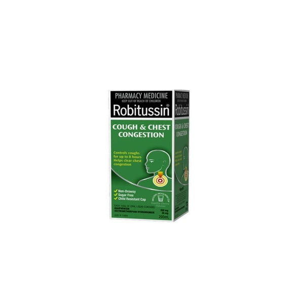 ROBITUSSIN Cough&Chest Cong 200ml