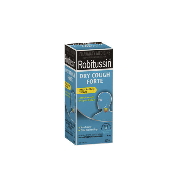 ROBITUSSIN Dry Cough Forte DX 200ml