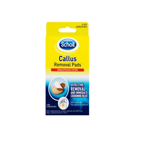 SCHOLL Callous Removal Pads