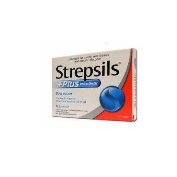 STREPSILS Anaesthetic Plus 16loz