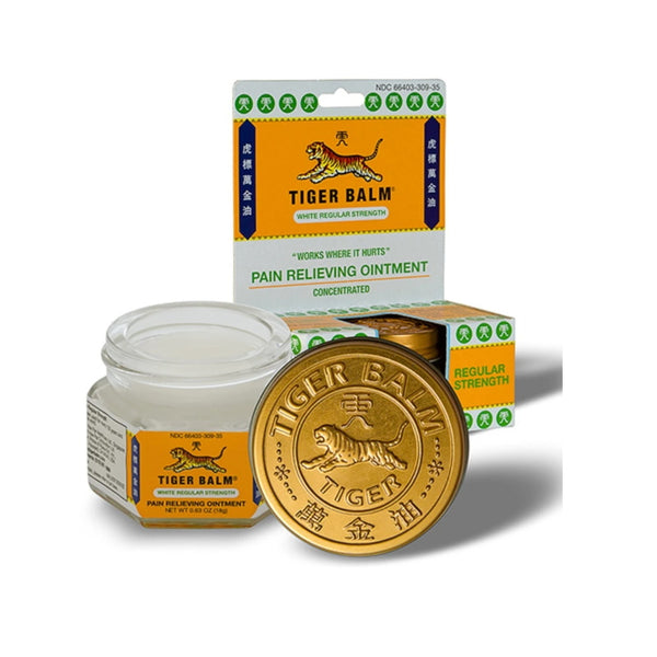 TIGER Balm 18g White Reg Strength