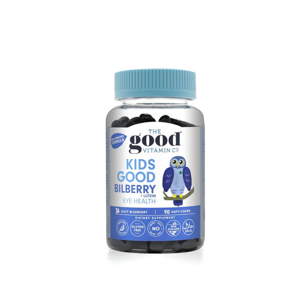 The Good Vitamin Co. Kids Good Bilberry +Lutein Chews 90s