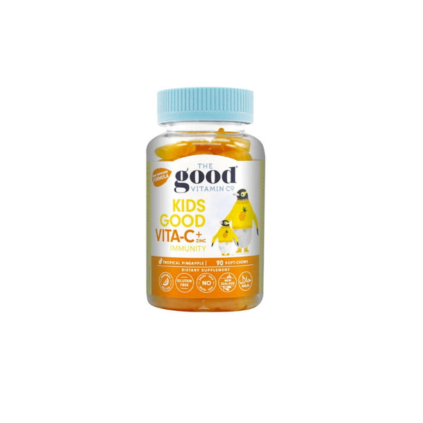 The Good Vitamin Co. Kids Good Vita-C + Zinc Pineapple 60s