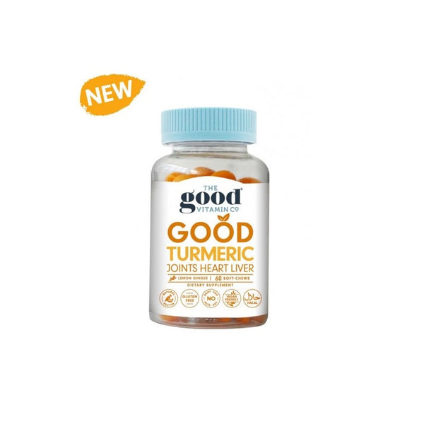 The Good Vitamin Co. Turmeric  Soft Chew 60s