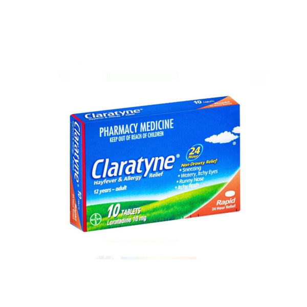 CLARATYNE 10mg 10 tablets